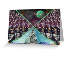 Walk With Me On The Wild Side Greeting Card