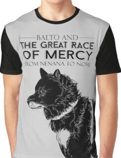 Great Race of Mercy Graphic T-Shirt