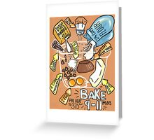 Aunt Fran's Chocolate Chip Cookies Greeting Card