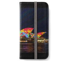 Flower Sails - Sydney Opera House - Sydney Vivid Festival iPhone Wallet/Case/Skin