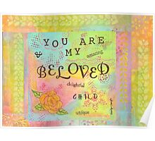 You are My Beloved--Affirmations From Abba  Poster