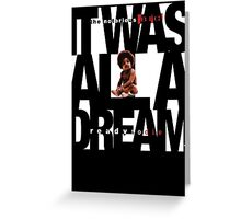 It was all a Dream - Cloud Nine [White] Greeting Card