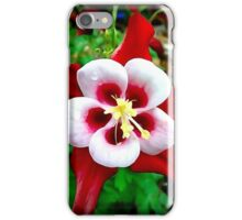 columbine blossom photoart iPhone Case/Skin