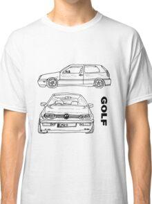 VW Golf Mk 3 (3 of 5) Classic T-Shirt