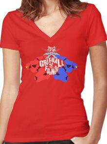 Grifball Tournament - World cup Women's Fitted V-Neck T-Shirt