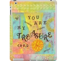 You are My Treasure--Affirmations From Abba  iPad Case/Skin