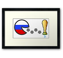 Russia World Cup 2014 Framed Print