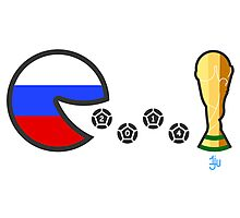 Russia World Cup 2014 Photographic Print