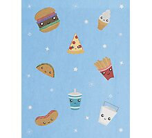 Fast Food Party! Photographic Print