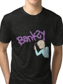 Harold and the purple banksy Tri-blend T-Shirt