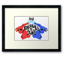 Grifball Tournament - World cup Framed Print