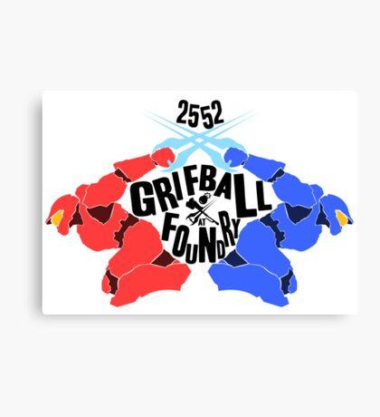 Grifball Tournament - World cup Canvas Print