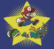 Mario vs Mike by cjboucher