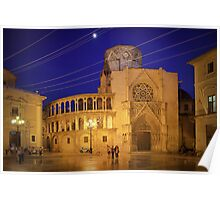 Valencia Cathedral Poster