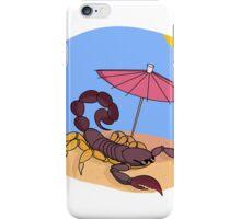 Scorpion Cocktail Under The Desert Sun   Summer Collection iPhone Case/Skin