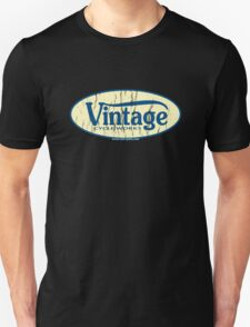 Vintage Cycle Works - oval badge T-Shirt