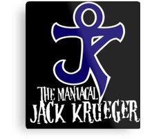 The Maniacal Jack Krueger Logo Metal Print