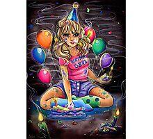 Birthday Girl Photographic Print