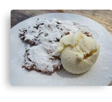 Apple Pancakes Canvas Print