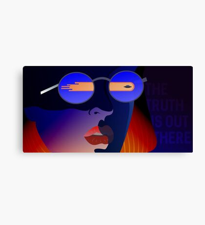 Dana Scully from X-Files Canvas Print