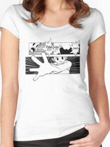 GON HUNTER X HUNTER PAAKENJAN! Women's Fitted Scoop T-Shirt