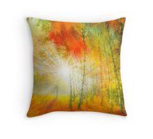 Autumn Colors 2 Pillow Throw Pillow