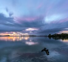 Southern Moreton Bay Sunrise by McguiganVisuals