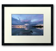 Southern Moreton Bay Sunrise Framed Print