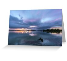 Southern Moreton Bay Sunrise Greeting Card