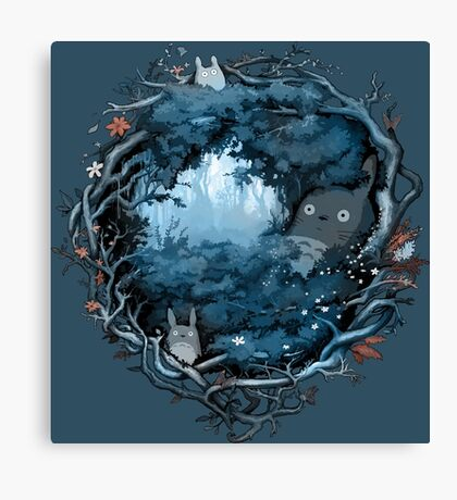 Forest Spirits Canvas Print