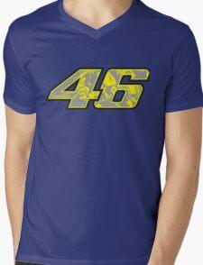 rossi number Mens V-Neck T-Shirt