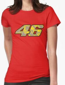 rossi number Womens Fitted T-Shirt