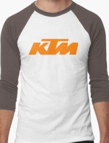 ktm logo Men's Baseball ¾ T-Shirt