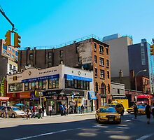 New York Intersection by Ross Chapman