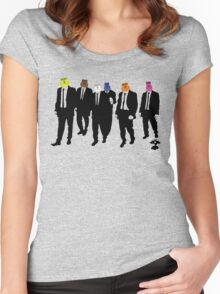 Reservoir Dog Tags Women's Fitted Scoop T-Shirt
