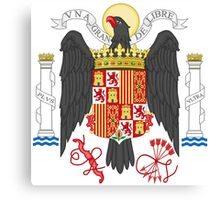 Coat of Arms of Spain (1938-1945) Canvas Print