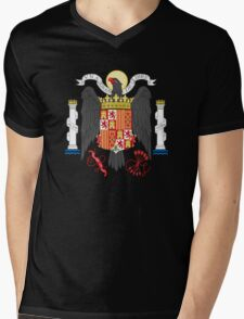 Coat of Arms of Spain (1938-1945) Mens V-Neck T-Shirt