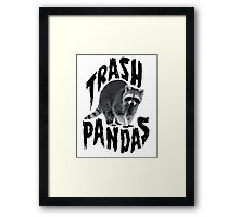 Trash Pandas Framed Print