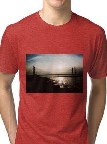 Bridge in Silhouette Tri-blend T-Shirt