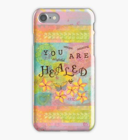 You Are Healed--Affirmations From Abba iPhone Case/Skin