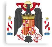 Coat of Arms of Spain (1945-1978) Canvas Print
