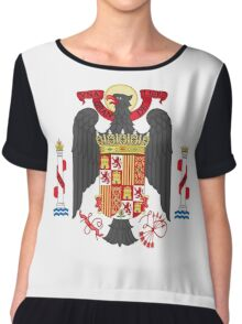 Coat of Arms of Spain (1945-1978) Chiffon Top