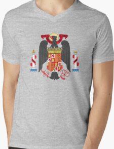 Coat of Arms of Spain (1945-1978) Mens V-Neck T-Shirt