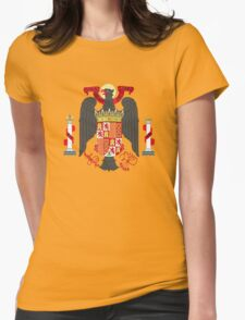 Coat of Arms of Spain (1945-1978) Womens Fitted T-Shirt