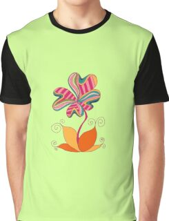 cute flower Graphic T-Shirt