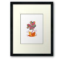 cute flower Framed Print