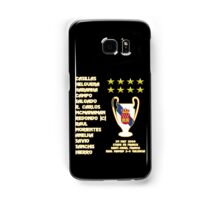 Real Madrid 2000 Champions League Winners Samsung Galaxy Case/Skin
