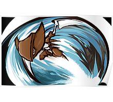 Kabutops | Aqua Jet Poster