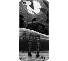 Drawlloween 2014: Creature from the Black Lagoon iPhone Case/Skin