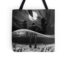 Drawlloween 2014: Creature from the Black Lagoon Tote Bag